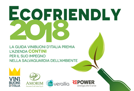 ECOFRIENDLY 2018 - Vinibuoni d'Italia del Touring Club Italiano